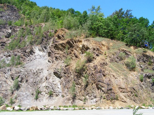 Quarry over Zloty Potok