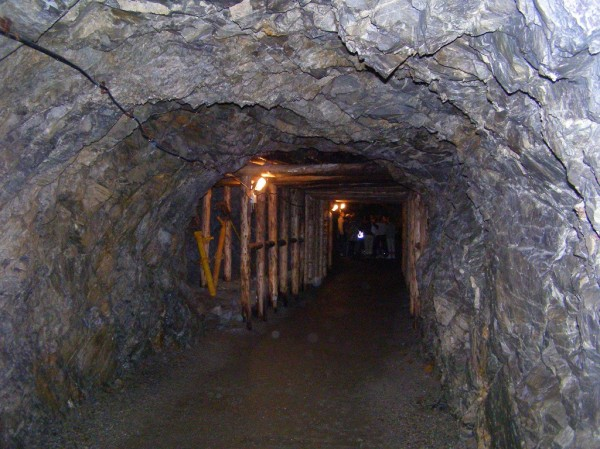 Tunnels of Sztolnia Gertruda