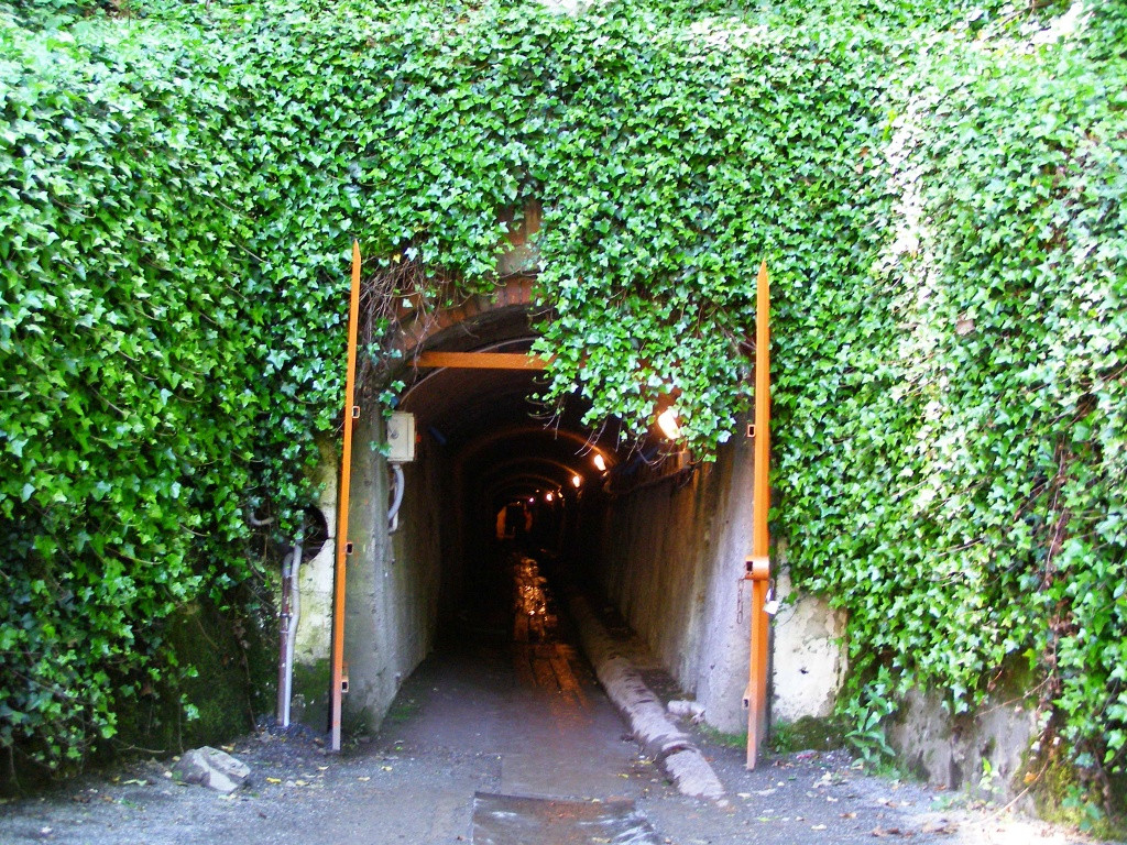 Exit from Sztolnia Gertruda