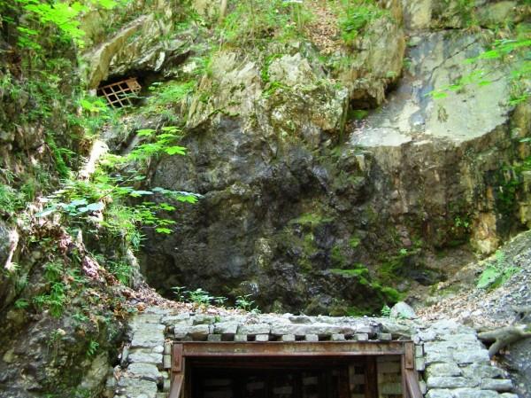 Entrance to Sztolnia Czarna (Black Adit)