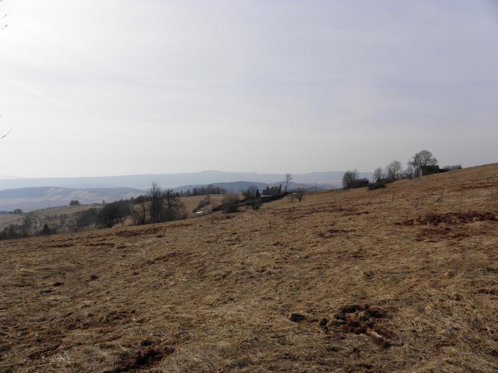Widok z G. św. Anny na Góry Stołowe