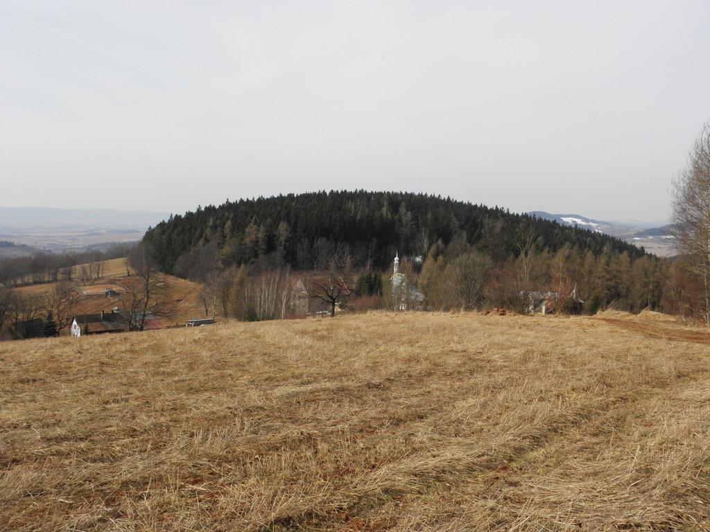 Widok na kaplicę św. Anny