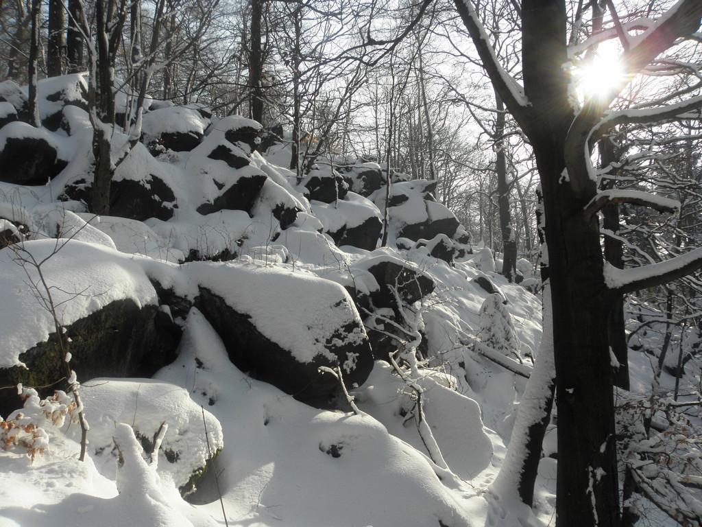 Ścieżka wśród skał