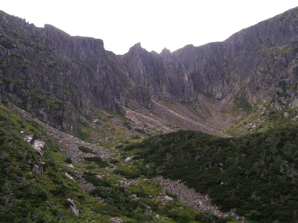 Crags in Duzy Sniezny Kociol