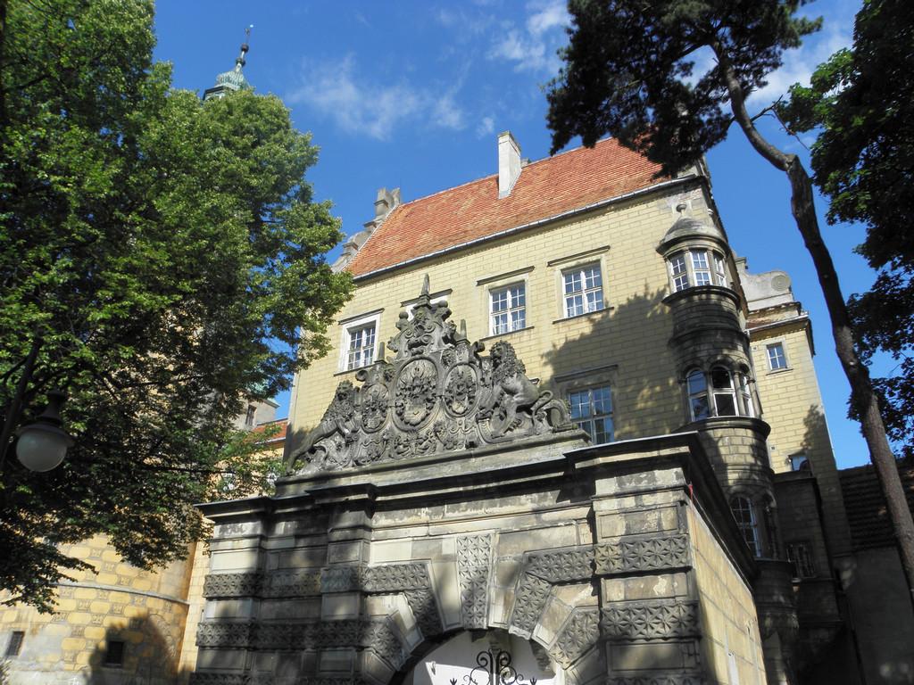 Zamkowa brama w Oleśnicy