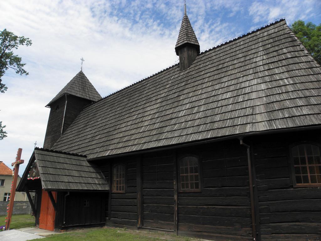 Grabowno Małe - kościół drewniany