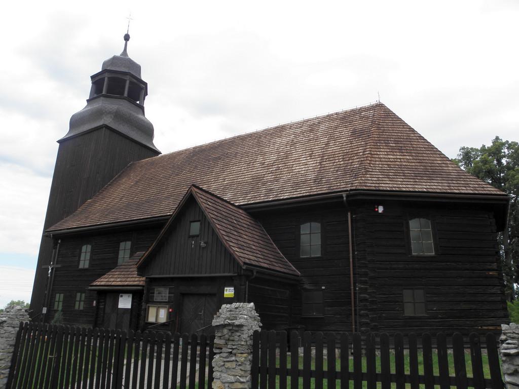 Złotów - kościół drewniany