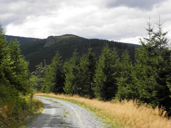 Nad doliną Sokolego potoku