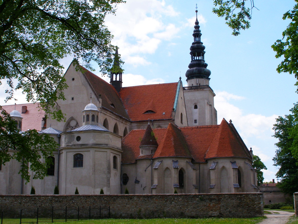 Abbey church in Henrykow