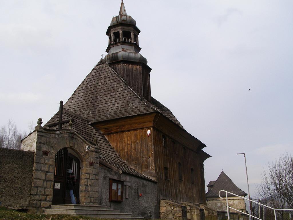 Wooden church in Nowa Bystrzyca