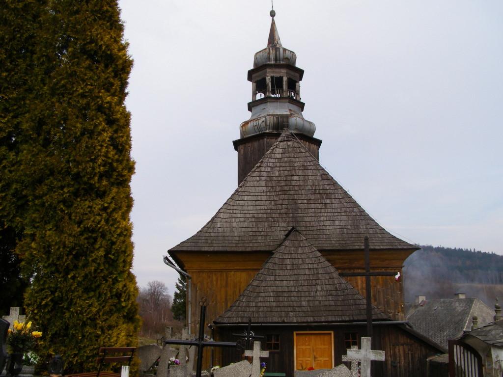 Graveyard in Nowa Bystrzyca