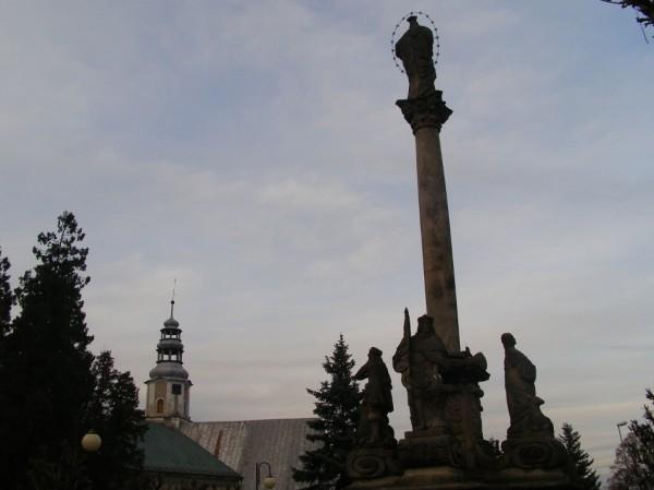 Holy Virgin column in Miedzylesie