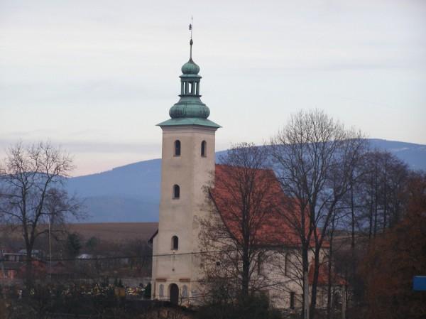 Graveyard church in Miedzylesie