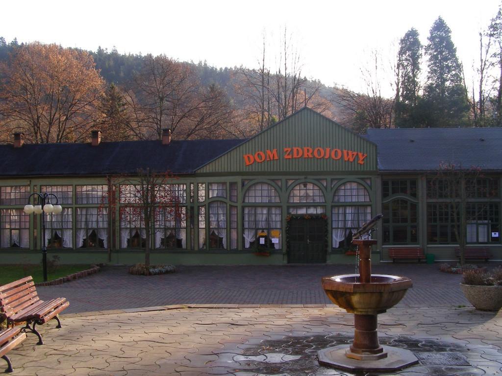 Park in Dlugopole-Zdroj