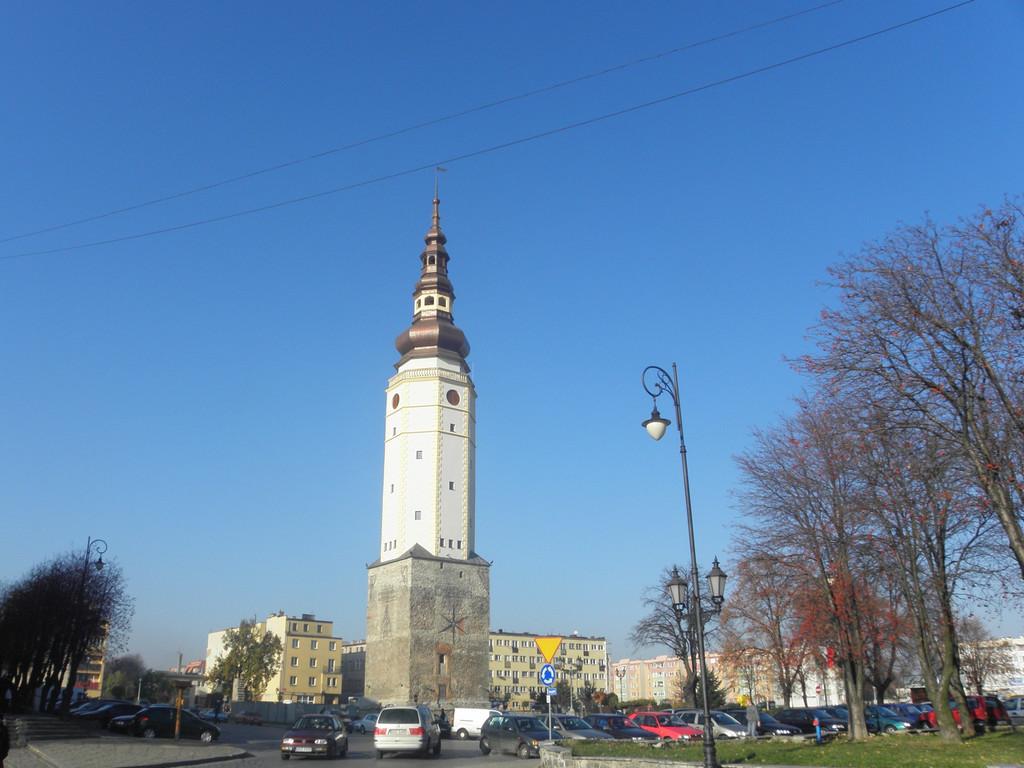 Strzelin - market square