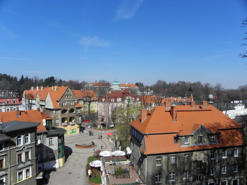 Widok ogólny uzdrowiska Szczawno-Zdrój