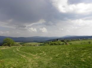 Panorama z Jedlnika na Bramę Międzyleską