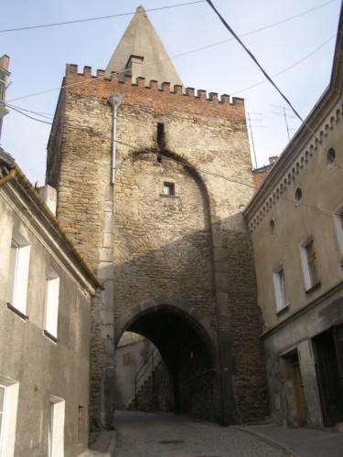 Brama Wodna (Water Gate) in Bystrzyca Klodzka