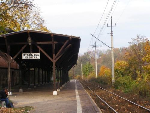 Rail station in Bystrzyca Klodzka