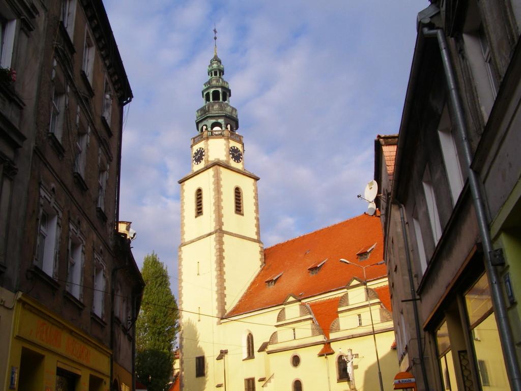 St. Michael's church in Bystrzyca Klodzka
