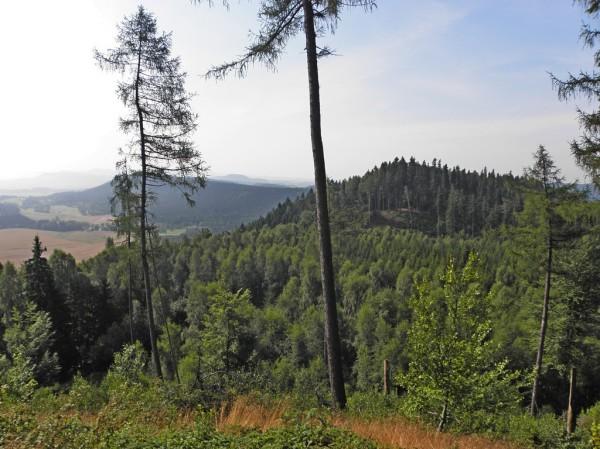 Widok z Dzioba na Góry Stołowe