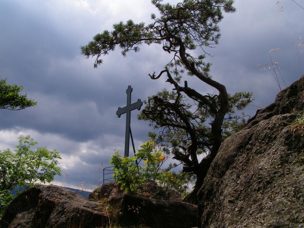Krzyzna Skala (Cross Rock)