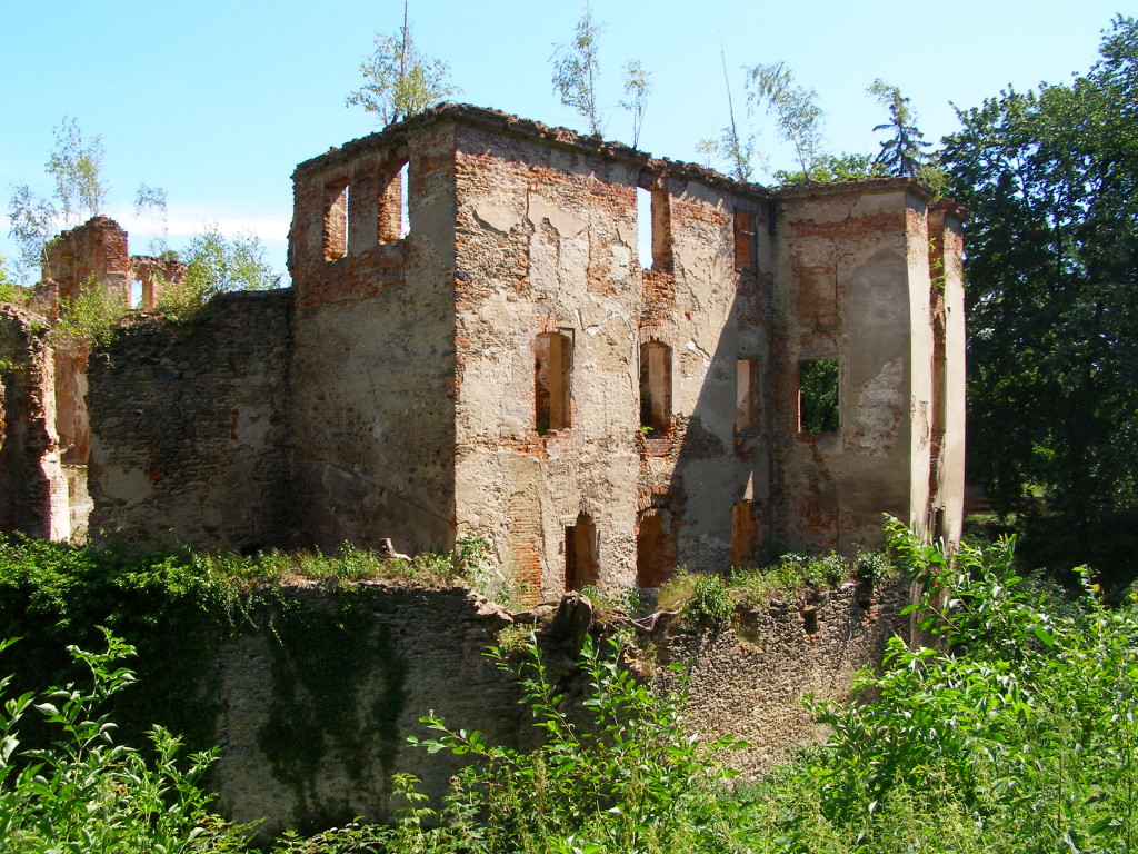 Ruins of Owiesno castle