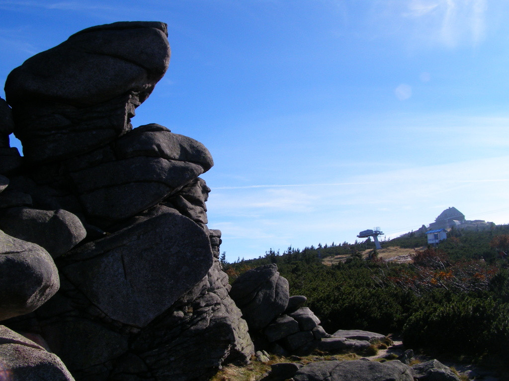 Top of Szrenica from Konskie Lby