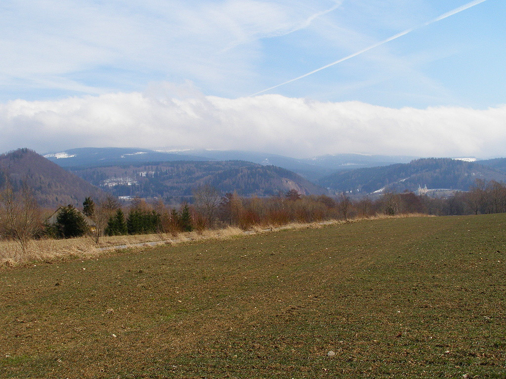 Panorama towards Nowa Wies