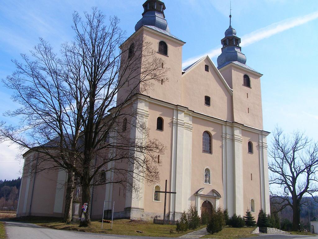Baroque church in Nowa Wies
