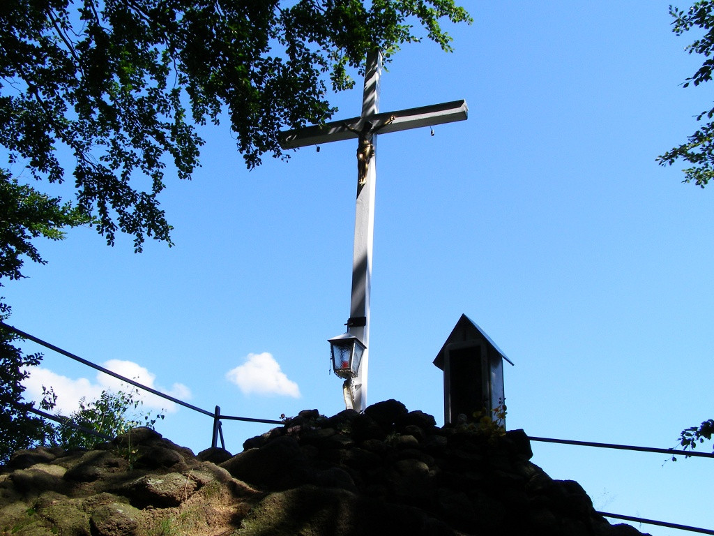 Cross under Krucza Kopa