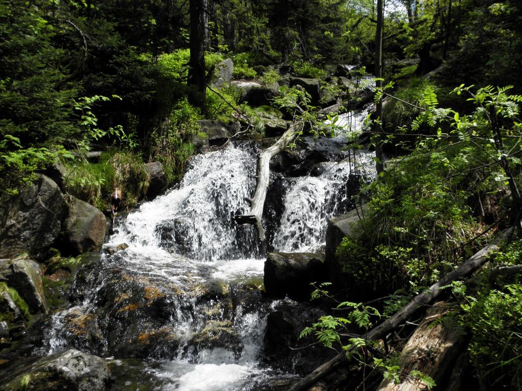 Wodospady Myi