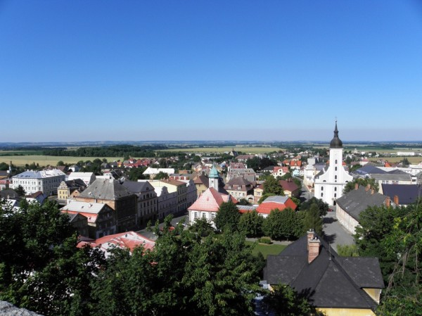 Javornik - panorama from the castle