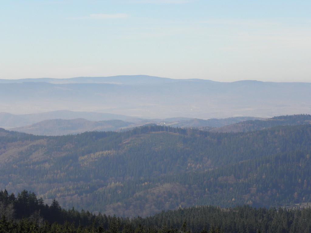Góry Orlickie - view from Borówkowa