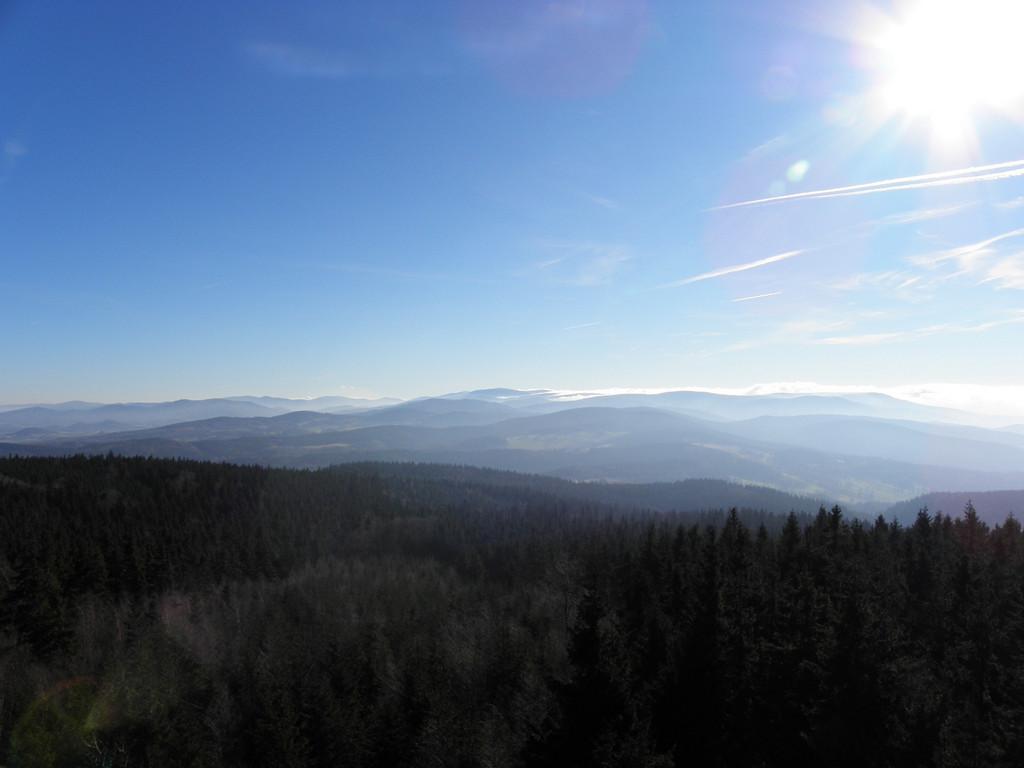 Sudety Wschodnie - view from Borówkowa