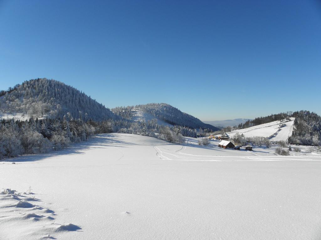 Nad Przełęczą Trzech Dolin