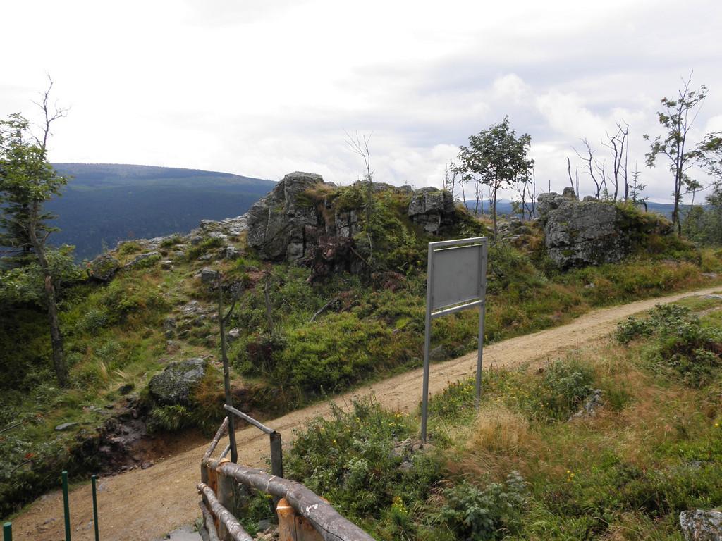 Road through Góry Izerskie