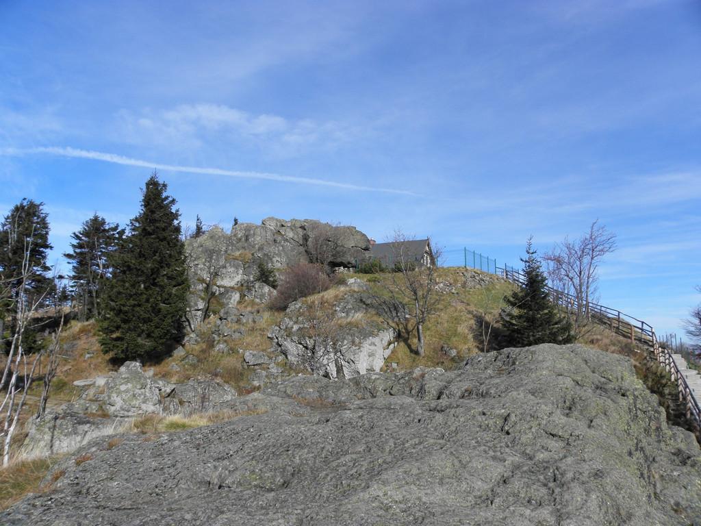 Top of Wysoki Kamień