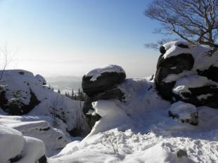 Starościńskie Skały zimą
