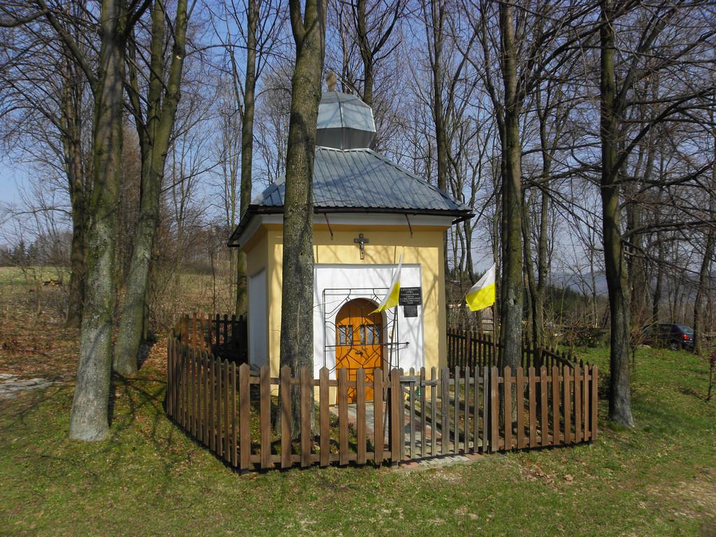 Kapliczka w Rogówku
