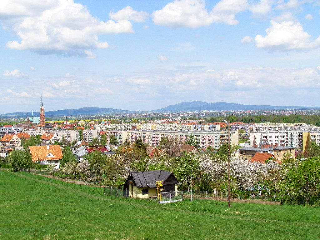 Panorama of Bielawa
