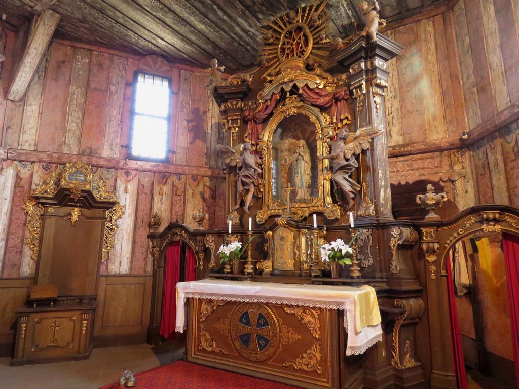 Kościół Matki Boskiej w Broumowie