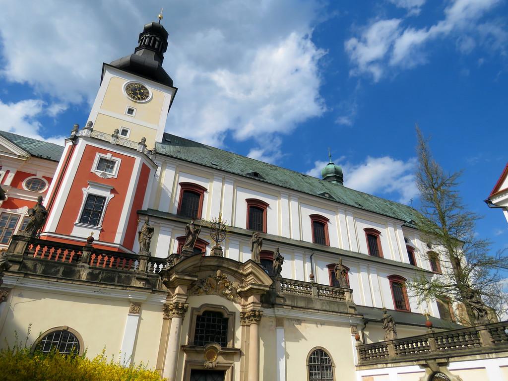 Broumov - klasztor