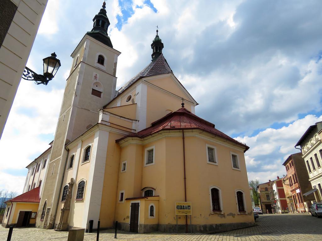 Broumov - kościół św. Piotra i Pawła