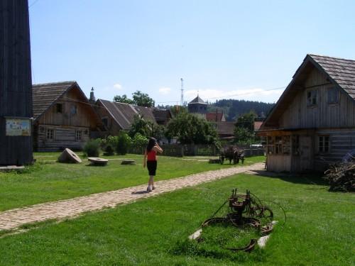 Small heritage park in Czermna