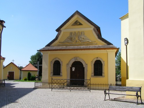 Skulls chapel in Czermna