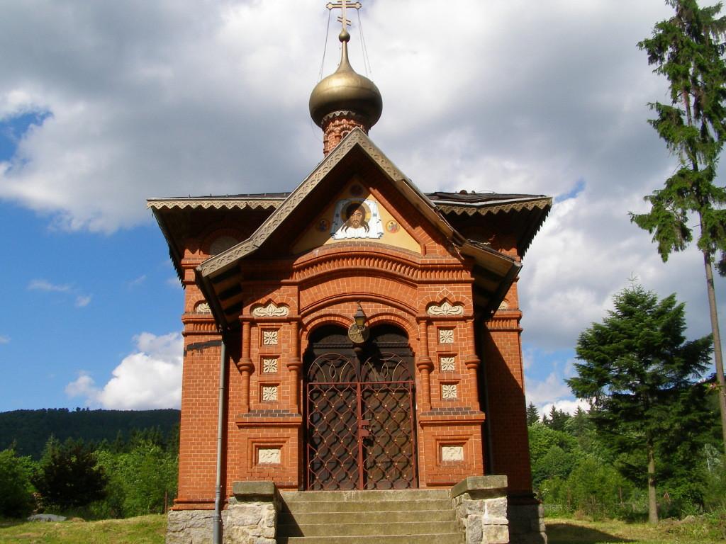 Small Orthodox church in Sokolowsko