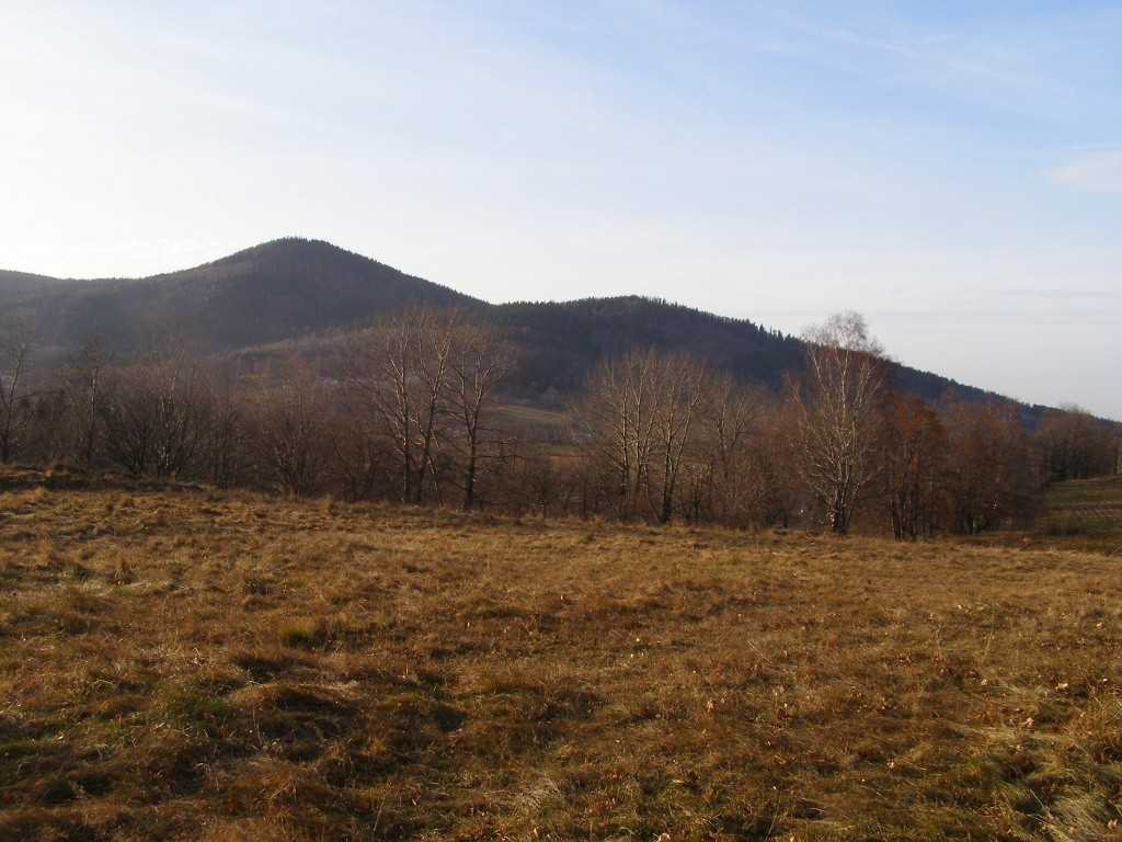 Grabowiec (784 m) from Straconka