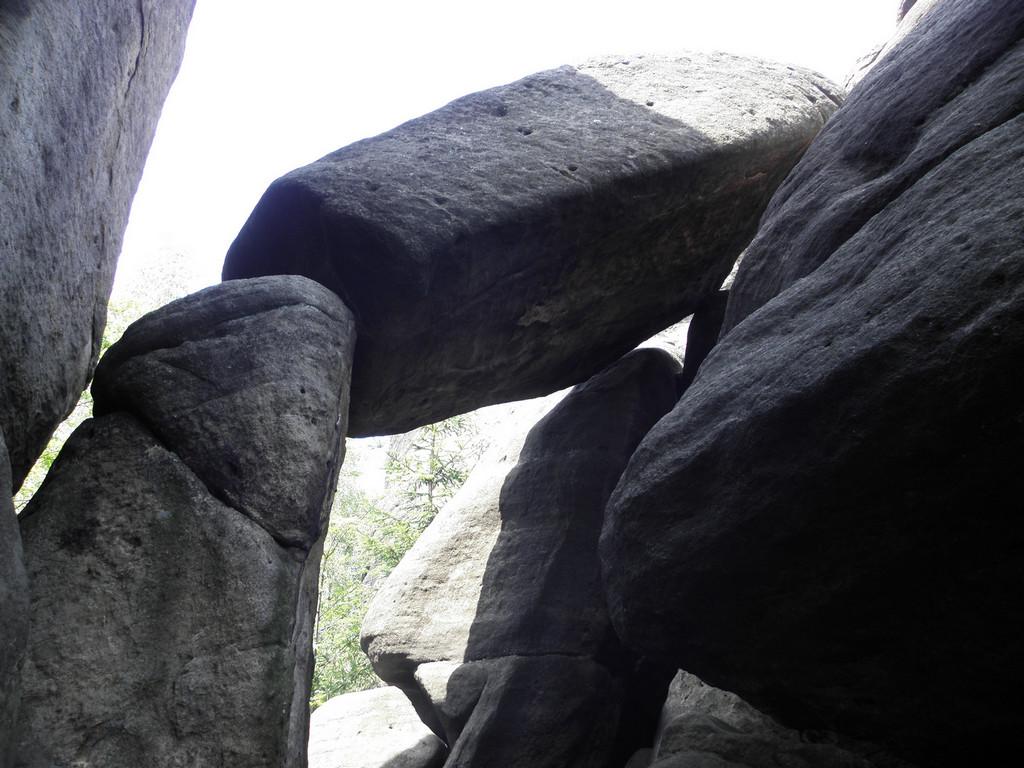 Brama skalna przy Junackiej vyhlidce