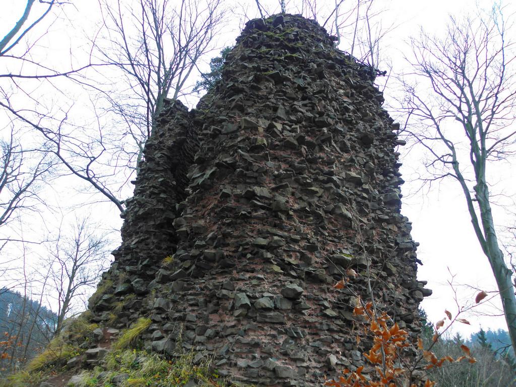 Radosno - ruiny wieży